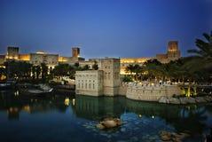 Madinat Jumeirah à Dubaï Images libres de droits