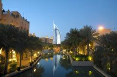 madinat jumeirah Дубай стоковая фотография