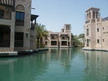 Madinat Jumeirah,迪拜,阿拉伯联合酋长国,中东 图库摄影