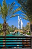 Madinat Jumeirah - Araber Venedig in Dubai stockfoto