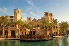 The Madinat Jumeirah the Arabian Resort and hotel royalty free stock images
