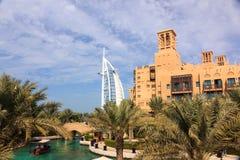 Madinat Jumeirah in Doubai Immagini Stock Libere da Diritti