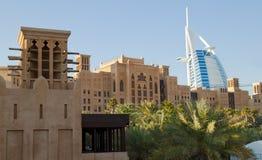 Madinat Jumeirah in Doubai Royalty-vrije Stock Foto's
