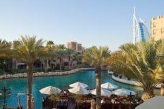 Madinat Jumeirah in Doubai Royalty-vrije Stock Foto