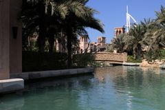 Madinat Jumeirah in Dubai Stock Photos