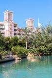 Madinat Jumeirah in Dubai Stock Images