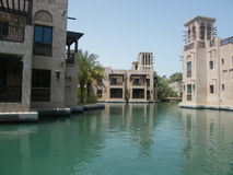 Madinat Jumeirah, Dubai, UAE, Mellanösten Arkivbild