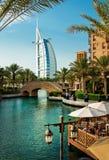 Madinat Jumeirah 3, 2013 em Dubai. Fotografia de Stock