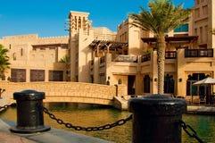 Madinat Jumeirah 3, 2013 em Dubai. Foto de Stock Royalty Free