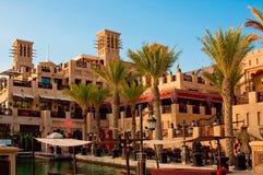 Madinat Jumeirah 3, 2013 em Dubai Foto de Stock Royalty Free
