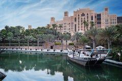 Madinat Jumeirah em Dubai Foto de Stock Royalty Free