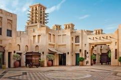 Madinat Jumeirah 3, 2013 em Dubai. Construído com Fotos de Stock Royalty Free