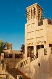 Madinat Jumeirah 3, 2013 em Dubai. Construído com estilo antigo Imagem de Stock Royalty Free