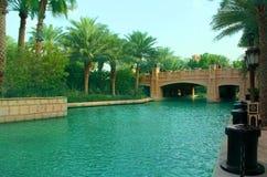 Madinat Jumeirah Foto de Stock Royalty Free