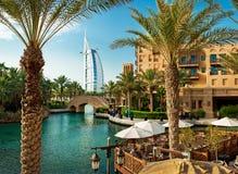 Madinat Jumeirah 3, 2013 en Dubai. Imagen de archivo libre de regalías