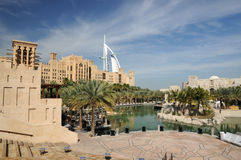 Madinat Jumeirah en Dubai imágenes de archivo libres de regalías