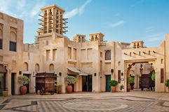 Madinat Jumeirah 3, 2013 en Dubai. Construido con Fotos de archivo libres de regalías