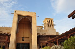 Madinat Jumeirah Hotel Stockbild