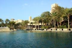 Madinat Jumeirah Fotografering för Bildbyråer
