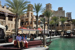 Madinat Jumeirah nel Dubai Fotografia Stock