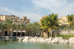 Madinat Jumeirah Resort in Dubai Royalty Free Stock Photos