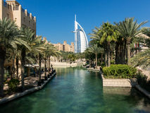 Madinat Jumeirah Resort in Dubai Stock Photos