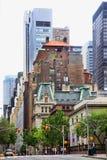 Madison Avenue New York City Arkivbild