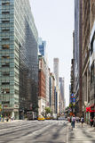 Madison Avenue in New York, editorial Royalty Free Stock Photography