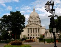 Madison Capitol Royalty Free Stock Images