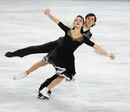 Madison CHOCK / Greg ZUERLEIN (USA) Royalty Free Stock Photography