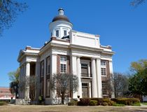 Madison County Courthouse Royalty Free Stock Photos