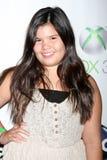 Madison De La Garza llega   Fotos de archivo libres de regalías