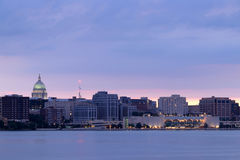 Madison downtown skyline. Royalty Free Stock Photography