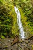 Madison Falls perto do porto Angeles, Washington Fotografia de Stock Royalty Free