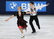 Madison HUBBELL / Zachary DONOHUE (USA) Royalty Free Stock Photos