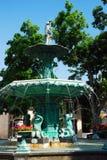 Madison, Indiana Fountain fotos de stock