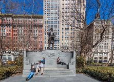 Madison kwadrata parka Manhattan punkt?w zwrotnych Miasto Nowy Jork usa obraz stock