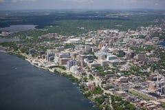 Madison le Wisconsin en été photo libre de droits