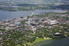 Madison le Wisconsin en été image libre de droits