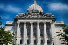 Madison Madison State Capital Building. Madison Wisconcin State Capital Building Royalty Free Stock Photo
