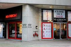 Madison Men's Wear LTD. Stock Photography