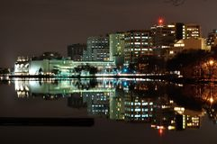 Madison - reflejada Imágenes de archivo libres de regalías