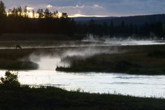 Madison River Stock Image