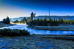Madison River at Dawn Yellowstone Stock Photography
