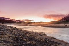 Madison River Sunrise Stock Photography