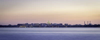 Madison Skyline Photos stock