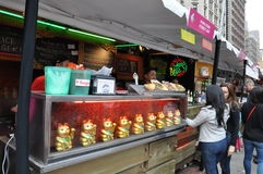 Madison Square Eats 2014 in New York City Royalty Free Stock Photo