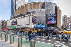 Madison Square Garden, Μανχάταν, Νέα Υόρκη, ΗΠΑ στις 14 Οκτωβρίου 2018 στοκ εικόνες