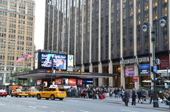Madison Square Garden. 34th Street and 7th Avenue, Manhattan, New York City Stock Photos