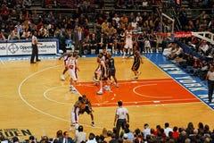 Madison Square Garden de Knicks X Indiana Pacers Image libre de droits